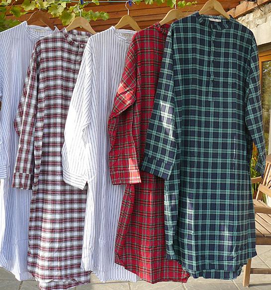 newest ca705 bdf55 Irische Flanellnachthemden - Das Original Herren Nachthemd ...